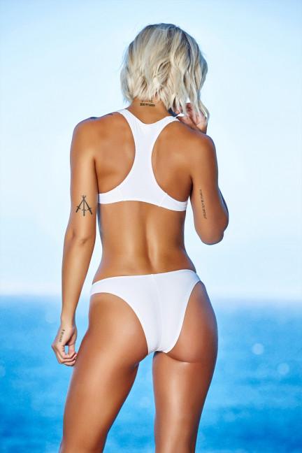 White Underboob Bikini
