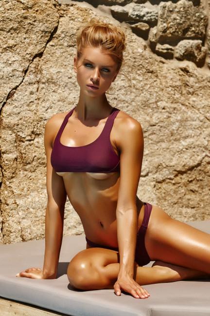 Red Underboob Bikini