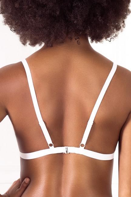 Tripple White Lace Bralette