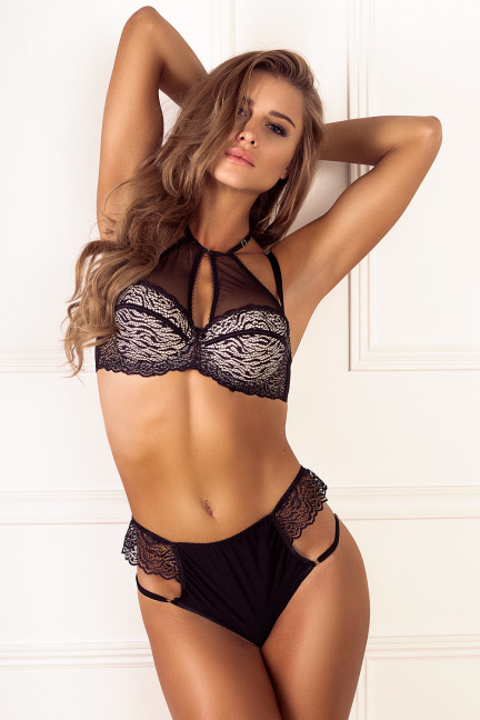 Highwaist Peplum Thong