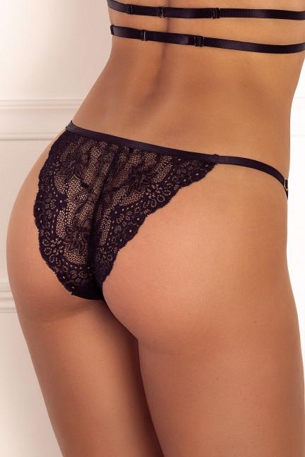 Black Side Strap Panty